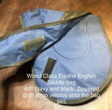 World Class Equine English saddle bag horse