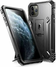 Poetic Shockproof for iPhone 11 Pro Max Case Full Coverage Stand Cover Black