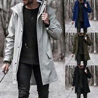1X Men Waterproof Jacket Fashion Windproof Lightweight Hooded Outdoor Sportswear