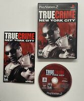 True Crime: New York City (Sony PlayStation 2, 2005) Black Label Complete PS2