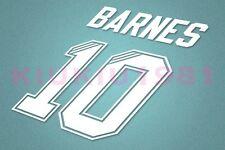 Liverpool Barnes #10 1995-1996 Homekit Nameset Printing