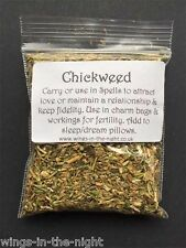 CHICKWEED Dried Magical Herb ~ Fidelity/Love/Fertility ~Pagan/Witchcraft/Wicca