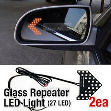 Side Mirror Turn Signal View Glass Curve Repeater LED Module 2Pcs for ACURA Car