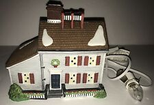 Department 56 New England village series Jeremiah Brewster House Christmas