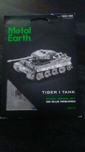 Metal Earth Tiger 1 Tank 3D Metal  Model MMS203 BRAND NEW by Fascinations