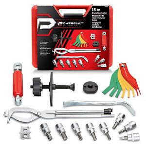 Powerbuilt 15 Piece Brake Service Kit - 948007