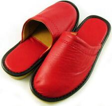 Handmade Genunie Leather Slipper Womens Shoes 6 - 6.5
