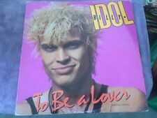 Maxi 45t Billy Idol - To be a lover (a6)