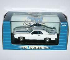 Pontiac Firebird Trans Am (1969) blanco y azul - 711 Modelo De Colección Escala 1:43