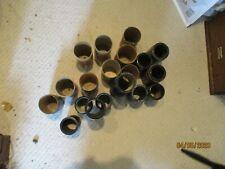 10 original various Edison Blue amberol phonograph cylinder records