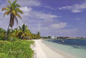 Postcard 5 - ANGUILLA - Caribbian - Island Harbour -  British West Indies