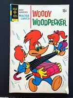 WOODY WOODPECKER #124 GOLD KEY COMICS 1972 FN- MARK JEWELERS RARE!