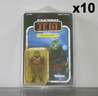10 x Action Figure Case - New & Vintage Style Star Wars or GI Joe Carded Figures