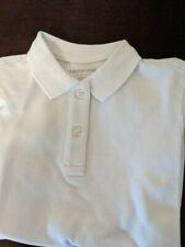Lands End girls school uniform polo, white, size 6x-7, new never worn
