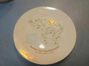 RARE Vintage 1971 PGA Golf World Cup Tournament Palm Beach Gardens Florida Plate