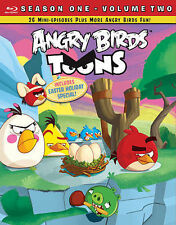 Angry Birds Toons: Season 1 - Volume TWO 2 BLURAY New / Sealed