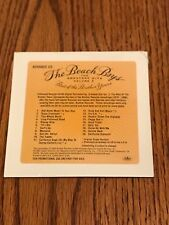 BEACH BOYS GREATEST HITS VOLUME 3 THE BEST OF THE BROTHERS YEARS CD ~ 2000