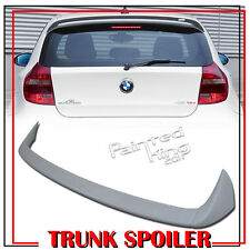 PAINTED BMW 1Er E81 E87 A-TYPE REAR ROOF TRUNK SPOILER 3DR 5DR Hatchback