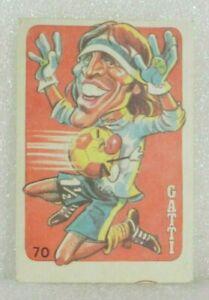 HUGO ORLANDO GATTI 1979 ORIGINAL FOOTBALL SOCCER CARD BOCA JUNIORS Nº 70