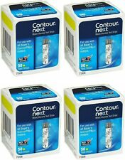 200 Contour Next Test Strips 4 Boxes of 50 Exp in 2022-Freaky Fast Shipping!
