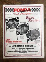 "~Fonda Speedway Racing Magazine June 9, 1990 ""Track of Champions"" (CC4216)"