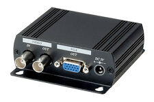 DVR Surveillance BNC Composite Video to VGA converter, Dual Output to BNC/VGA