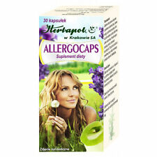 ALLERGOCAPS alergia oddychanie drogi oddechowe airways breathing  nervous system