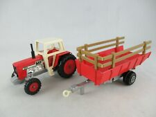 Matchbox Lesney K35 Massey Ferguson tractor and trailer