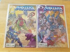 Masters of the Universe #1 Cvrs A + B - Image 2002 - Campbell Invincible Preview