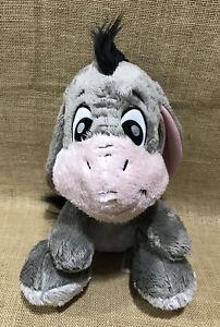 "Disney Parks Winnie the Pooh Big Feet Eeyore 13"" Plush Figure"