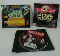 Monopoly Star Wars PC Game (Hasbro Interactive, 1997) Tested + Complete w/Manual