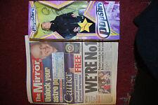 1990's Popstars Danny Foster Hearsay Collectable Retro Vintage Doll Ticket Stub