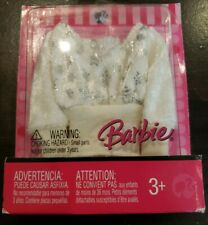 Barbie Doll Clothing - Fashion Fever White Sequined Blouse - New