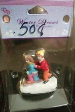 Winter Dreams~Winter Collectables~Children Snow Figures~Christmas Village