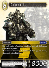 Final Fantasy TCG Opus 1 Rare Card FF XII Gabranth 1-098R Mint Condition