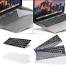 "Silicone Laptop Keyboard Cover Protectors for Macbook Pro 13/15"" with Touch Bar"
