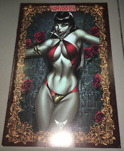 Vampirella #1 (Dynamite, 2019) J. Scott Campbell 1:75 Exclusive Icon Variant