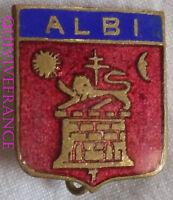 BG5958 - INSIGNE BLASON D' ALBI
