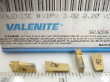 VIPV 3.00 0.2 VC902 VALENITE Carbide Inserts (10pcs)1383