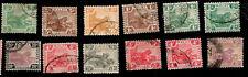 1930s WildCats Jumping Tiger British Malaya Stamps
