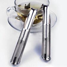 Teestab Teesieb Filter Tee-Stick Teezubereiter Edelstahl Teeflöte Küchenhelfer