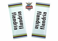 Vintage FLANDRIA bike Replacement Decals Stickers 1970s