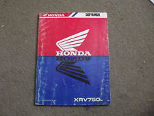 MEGA RARA ORIGINALE NOS HONDA MANUALE OFFICINA XRV750L AFRICA TWIN 62mv100 1989