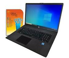 HP 17 Zoll  Notebook Intel N4020 8GB 1000GB Win10 / Offcie 2019 / TOP Laptop