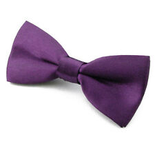 Noeud Papillon pour Enfant Satin Violet réglable - Children Bowtie Purple