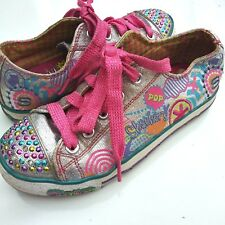 47dc99838 Skechers Girls Twinkle Toes Light Up Sneakers Size US 2