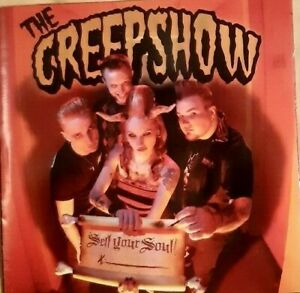 "CD The CREEPSHOW ""Sell Your Soul"" Psychobilly HorrorPops Gutter Demons - Brains"