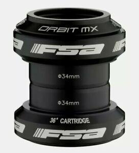 """FSA Orbit MX  1 1/8"""" A-Headset MTB Road Bike Headset BLK"""