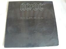 AC/DC - BACK IN BLACK LP MADE IN INDIA