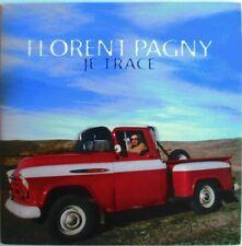 """FLORENT PAGNY - CD SINGLE PROMO """"JE TRACE"""""""